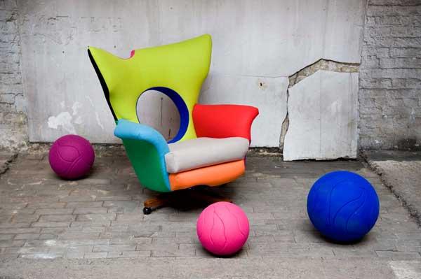 Trendy furniture, trendy Clerkenwell