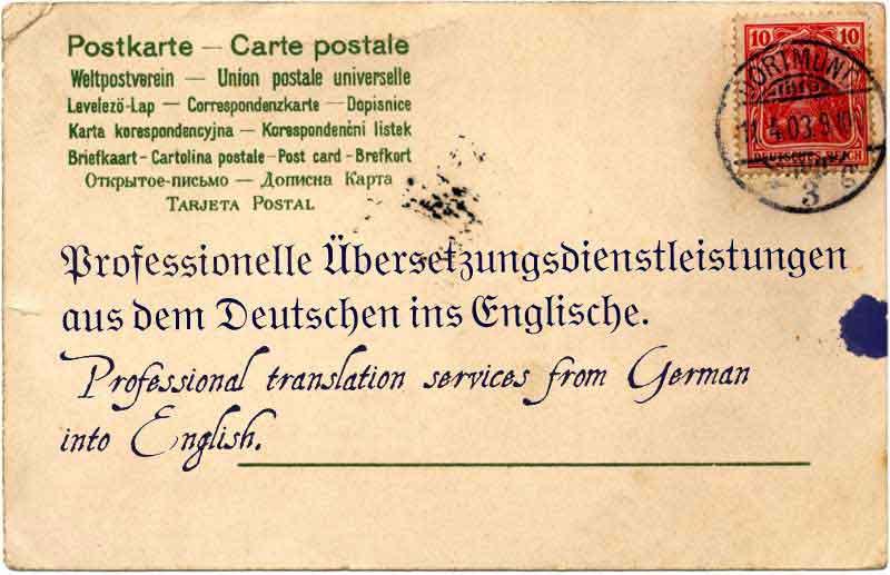 German to English Translation Services | WorldAccent, London